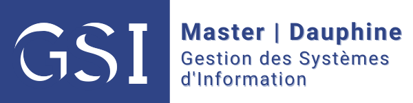 Master gestion systemes d'information